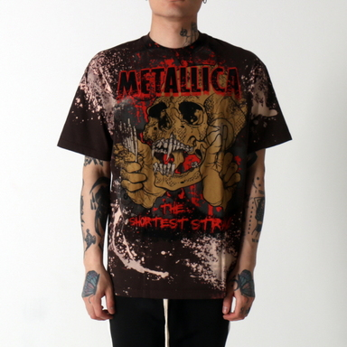 [$ SHOP SALE] [VINTAGE WEAR LA] METALLICA THE SHORTEST STRAW TEE