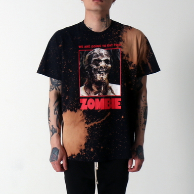 [쿠드그라스 연말 FINAL SALE] [VINTAGE WEAR LA] ZOMBIE FULL COLOR POSTER TEE