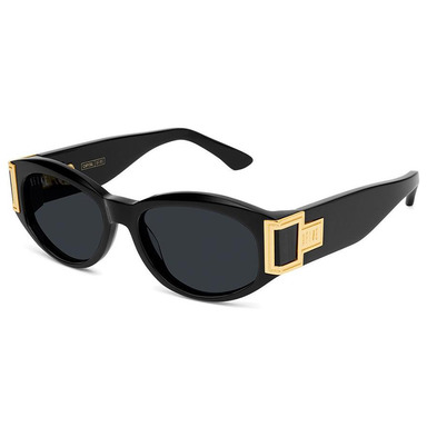 [쿠드그라스 연말 FINAL SALE] [9FIVE] CAPITAL BLACK & 24K GOLD SUNGLASSES