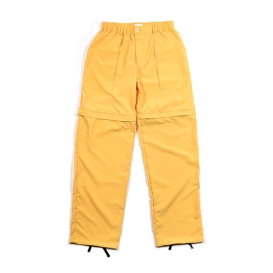 [END/AND] 2-WAY UTILITY ZIP POLY PANTS [GOLD]