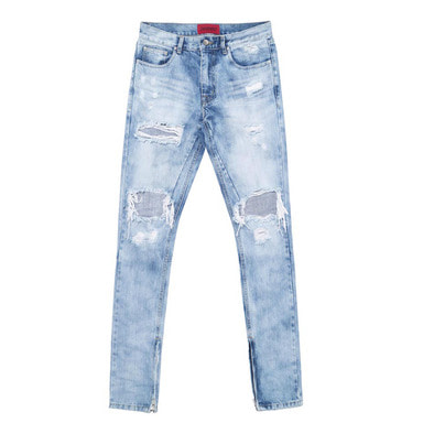 [DEADEND] SELVEDGE ZIPPER DENIM JEANS
