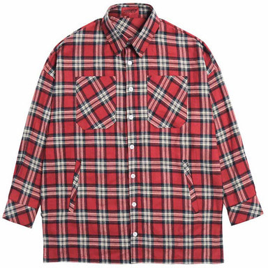 [DEADEND] RED FLANNEL POCKET SHIRTS V2