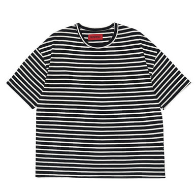 [DEADEND] BLACK STRIPE SHORT SLEEVE