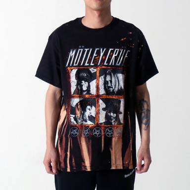 [쿠드그라스 연말 FINAL SALE] [VINTAGE WEAR LA] MOTLEY CRUE 2012 TOUR TEE