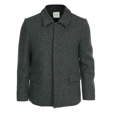 [CLEMMRM] DONA WOOL JACKET (SLATE GRAY)
