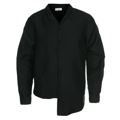 [CLEMMRM] NEPHEW SHIRTS (MATT BLACK)