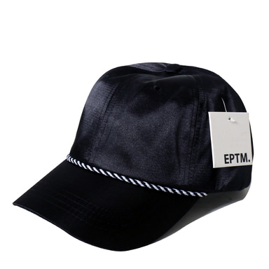 [쿠드그라스 연말 FINAL SALE] [EPTM] SATIN DAD CAP (BLACK)