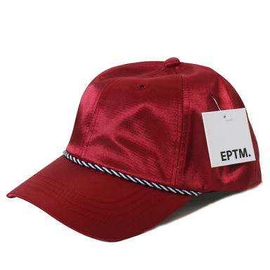 [쿠드그라스 연말 FINAL SALE] [EPTM] SATIN DAD CAP (RED)