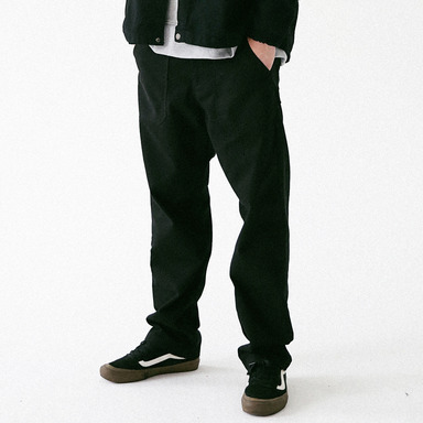 [MASSNOUN] FULL WORK FATIGUE PANTS MFVCP003-BK