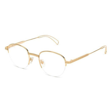 [2018/8/27 ~ 2018/9/30  PRE ORDER 30% SALE] [9FIVE] DIME 24K GOLD CLEAR LENS GLASSES