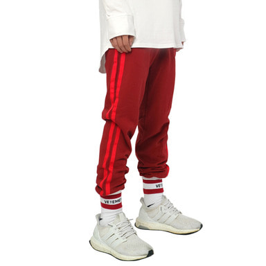 [DEADEND] BURGUNDY RED JOG PANTS