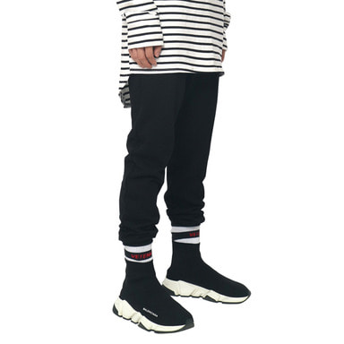 [DEADEND] BLACK JOG PANTS