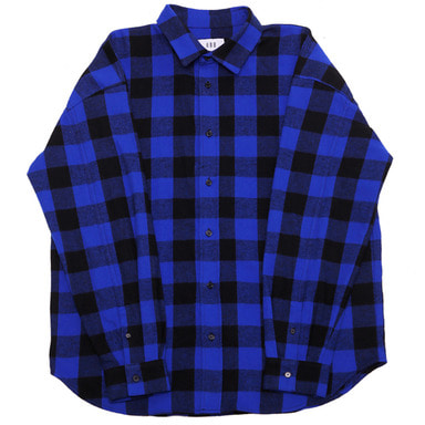 [OBH] FLANNEL SHIRT - BLUE
