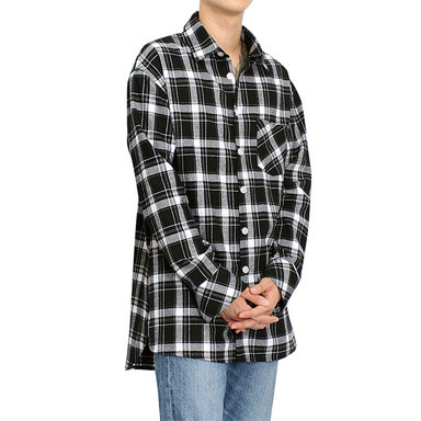 [CLACO] FLANNEL SHIRTS V3 (BLACK)