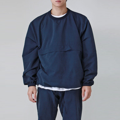[TAKEASY] BRUSHED WINDCHEATER (NAVY)
