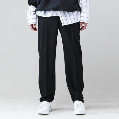 [TAKEASY] WIDE SLACKS (BLACK)