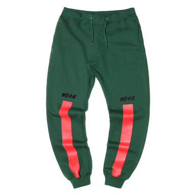 [NSTK] NSTK RISE SWEATPANTS (GREEN)