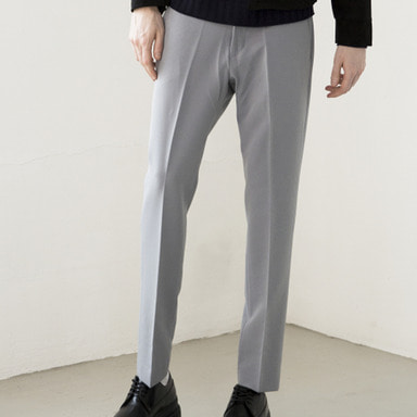 [IDIOTS] GREY BLUE SLACKS