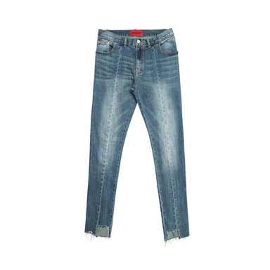 [DEADEND] IMBALANCE CROPPED JEANS