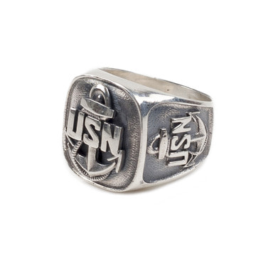 [AGINGCCC] 131# USN RING SILVER