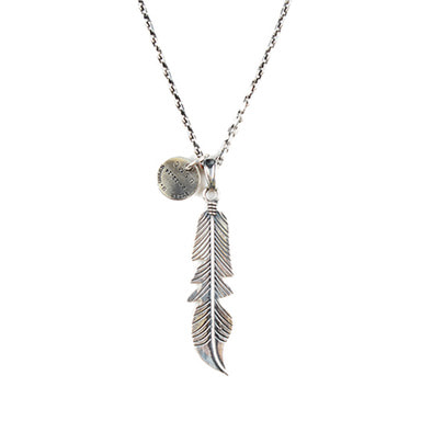 [AGINGCCC] 135# NAVAJO FEATHER NECKLACE