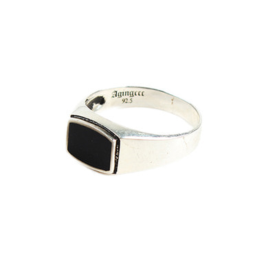 [AGINGCCC] 137# ONYX RING-R