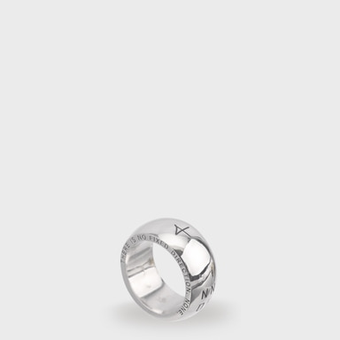 [NONENON]PLUMP RING 2 (SILVER)