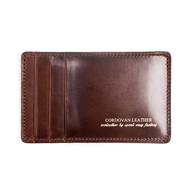 [AGINGCCC] 212# RIGID CORDOVAN Y CARD WALLET