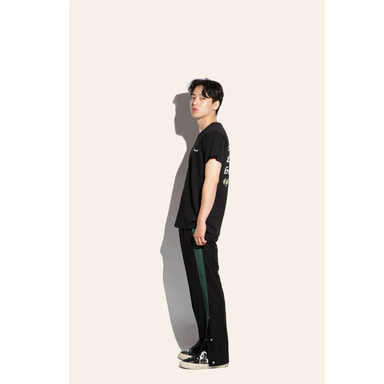 [FIAR] SIDE OPEN TROUSER (GREEN)