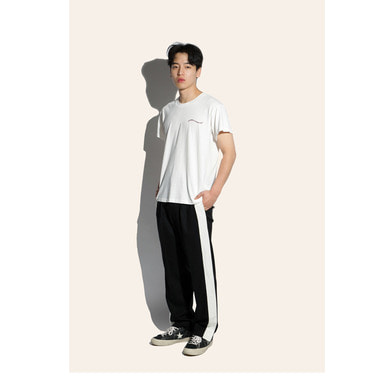 [FIAR] SIDE OPEN TROUSER (WHITE)