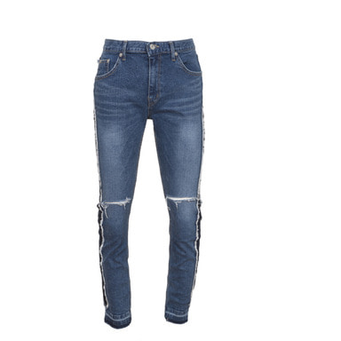 [VAN CALLE CAMINOS] Calle blue line wash denim jean