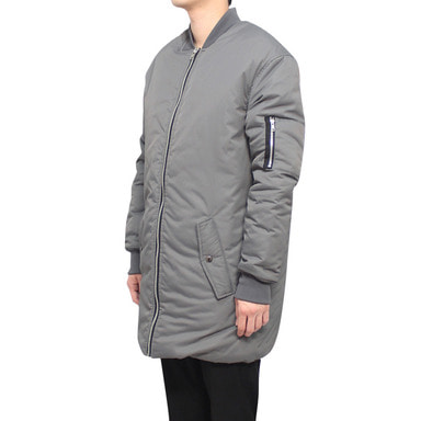 [CLACO] LONG PADDING (GRAY)
