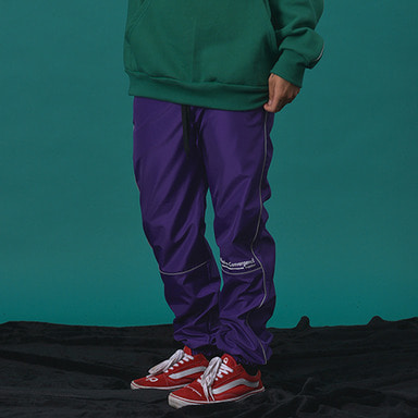[WANTON] 3M LINE JOGGER PANTS PURPL
