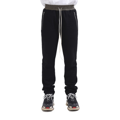 [RCNP] STRAIGHT PANTS (BLACK)