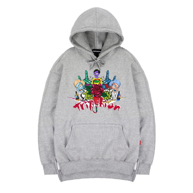 TRIPSHION FAMILY HOODIE - GRAY