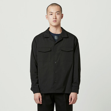 [NOVELLA] SHIRT JACKET BLACK