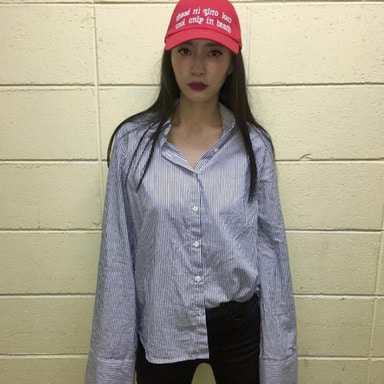 [1+1 EVENT] [$ SHOP SALE][COUPDEGRACE] COOL ONLY IN DEATH COTTON TWILL BALL CAP (RED)