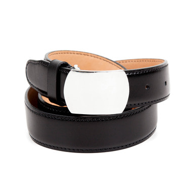 [AGINGCCC] 252# 92.5 SILVER CW OFFICER BELT-PLAIN