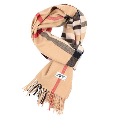 [AGINGCCC] 261# HOUSE CHECK MUFFLER-BEIGE