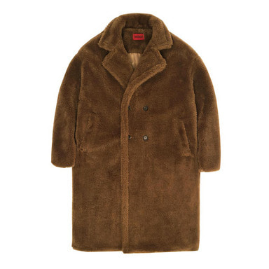 [DEADEND] BROWN FUR LONG COAT