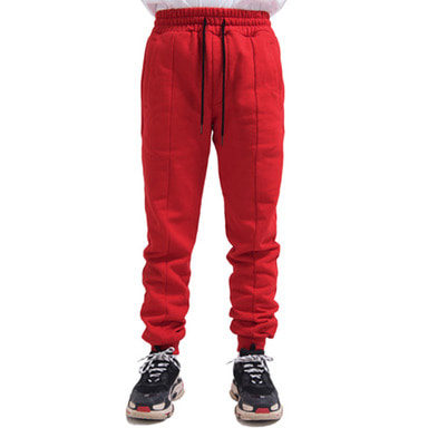 [RCNP] JOGGER PANTS (RED)