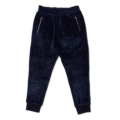 [OVERR] EASSY.3 NAVY FLEECE PANTS