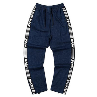 [NSTK] NSTK LINE TRACK PANTS 2 (DENIM)