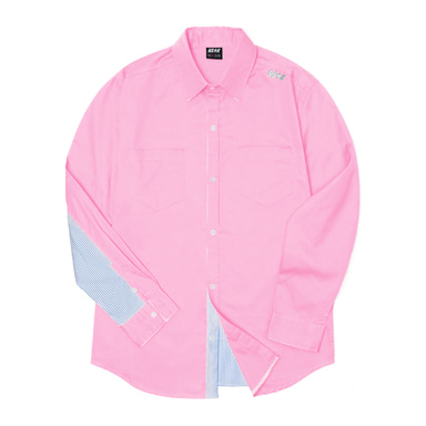 [2018 SPRING SEASON OFF] [NSTK] NELEMENT SHIRTS (PINK)