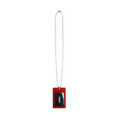[RADIOS] RDS CARD HOLDER NECKLACE TRACK.1(RD)