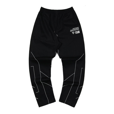 [2018 SUMMER SALE] [NYPM] DIMENSIONAL PANTS (BLK)