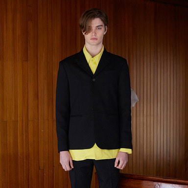 [NOVELLA] 18SS 3BUTTON BLAZER (BLACK)