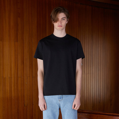[NOVELLA] 18SS BASIC T-SHIRT BLACK