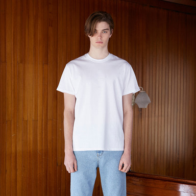 [NOVELLA] 18SS BASIC T-SHIRT WHITE