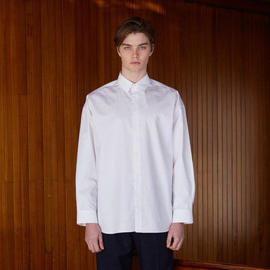 [NOVELLA] 18SS UNUSUAL SHIRT WHITE
